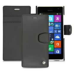 Ein Lederetui Nokia Lumia 735