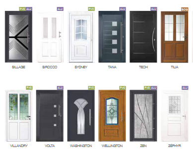 Porte d'entrée (PVC, bois, métal…): le surprenant choix Tryba!